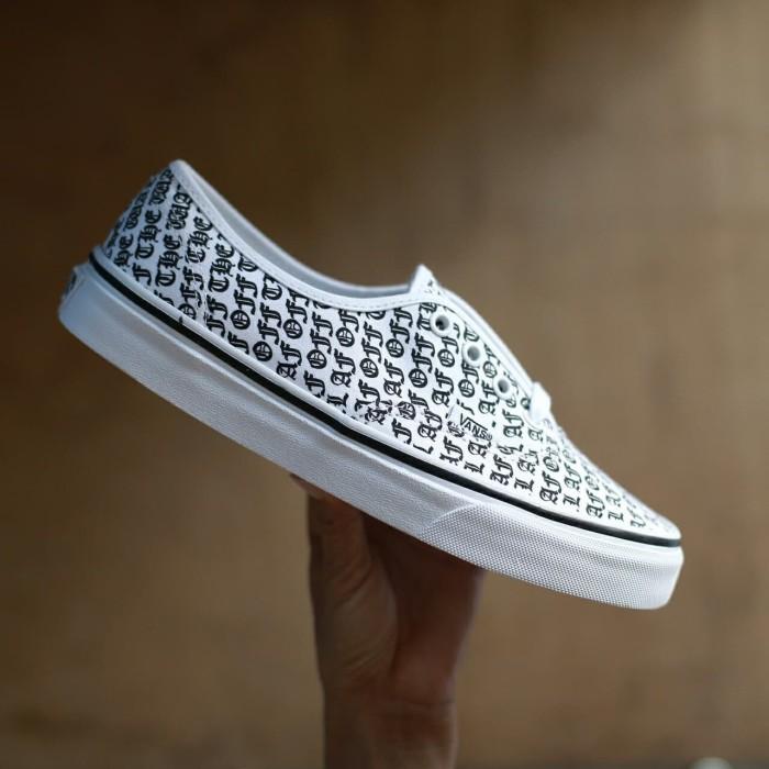 Jual Vans authentic otw af true white - endarfootwear  ad156daa1