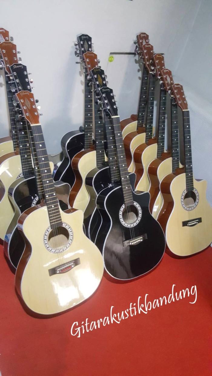 harga Gitar akustik jumbo murah bandung bisa gojek harga termasuk tas Tokopedia.com