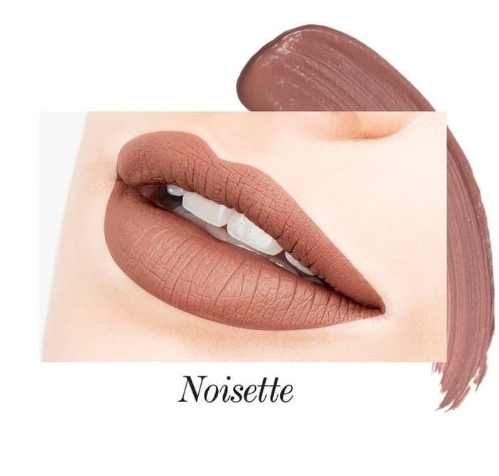 JOUER Long-Wear Lip Creme Liquid Lipstick - Noisette