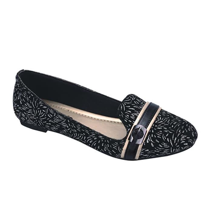 Catenzo Sepatu Pantofel Wanita Formal Women Shoes Hitam - tempat ... fb0e5fcf51