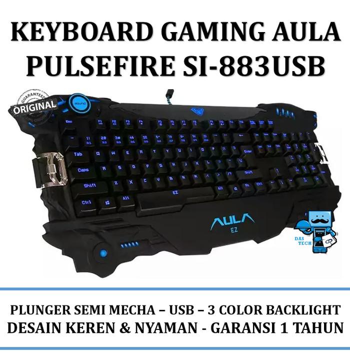 d2048005b4c Dijual Keyboard Gaming AULA Mechanical Pulsefire SI-883SUSB Di ...