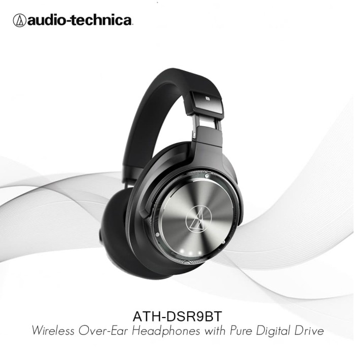 Audio - Technica Ath - Dsr9bt Wireless Over - Ear Headphones Digital Drive - Audio - Blanja.com