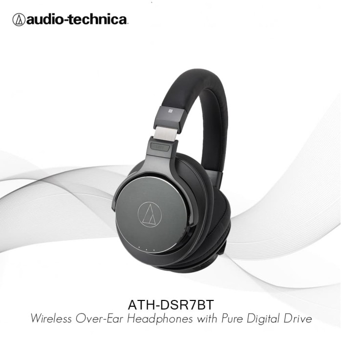 Audio - Technica Ath - Dsr7bt Wireless Over - Ear Headphones - Audio - Blanja.com