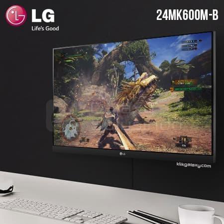 harga Lg 24mk600m-b 23.8  ips fhd 75hz freesync + wallmount gaming monitor Tokopedia.com