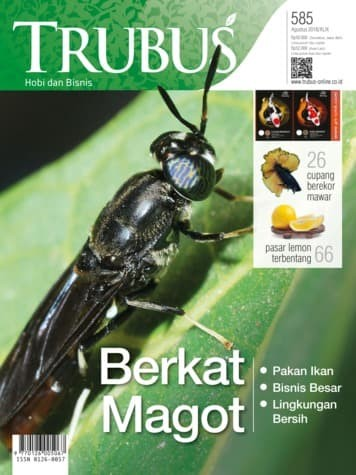 harga Majalah trubus 585 edisi agustus 2018 Tokopedia.com