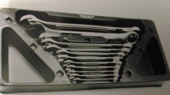 TEKIRO - KUNCI RING PAS 11 PCS 8 - 24 MM PER SET CABINET - ORIGINAL