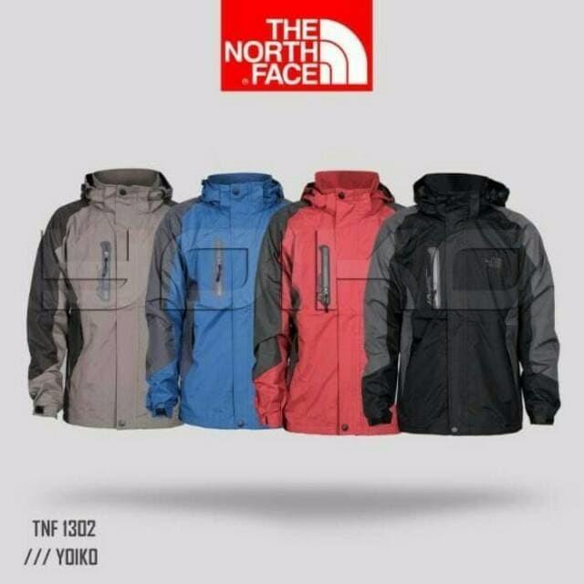 Jaket gunung outdoor the north face 1302 waterproof import murah