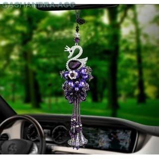 HOT PROMO!!! Gantungan Spion Car Bunga Middle Mirror Mobil Mewah Swaro