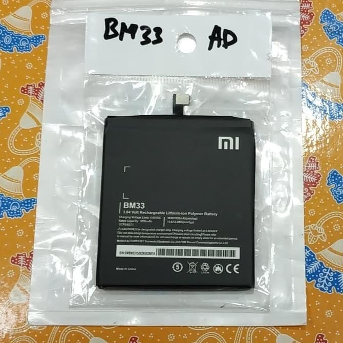 harga Baterai xiaomi mi4i battery redmi 4i mi 4i bm33 bm 33 original 100% Tokopedia.com