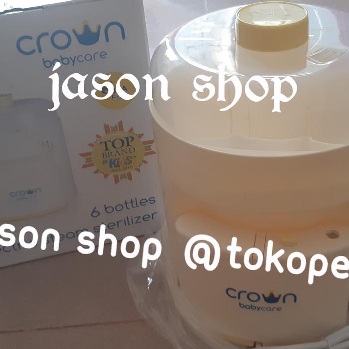 harga Alat steril/steamer botol susu bayi (6 botol) crown babycare Tokopedia.com