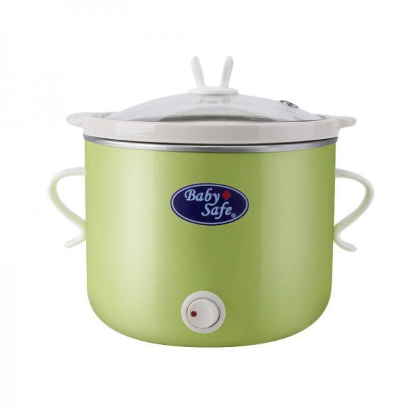 Baby safe slow cooker on/off button