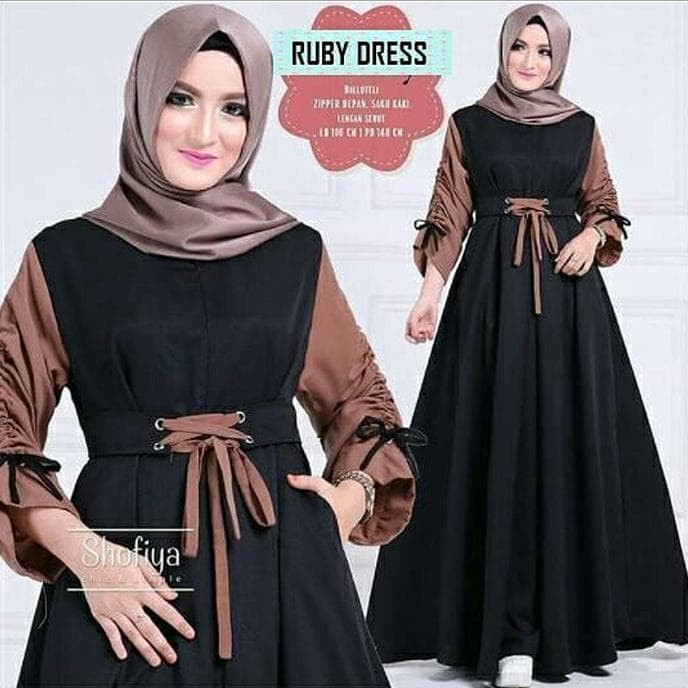 Jual Harga Grosir Baju Muslim Tunik Dress Gamis Fashion Muslim Wanita Tebet Safeea Office Tokopedia
