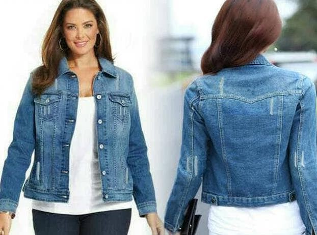 Katalog Jaket Jeans Biru Muda Travelbon.com
