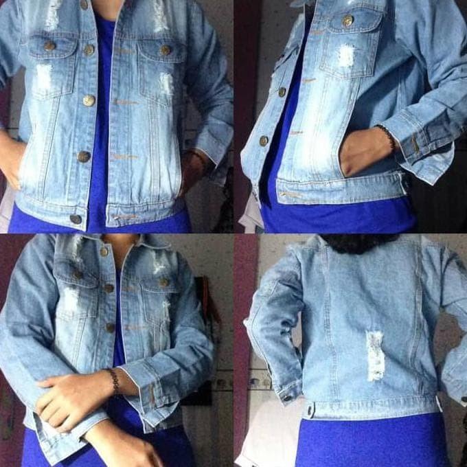 Katalog Jaket Jeans Biru Muda DaftarHarga.Pw