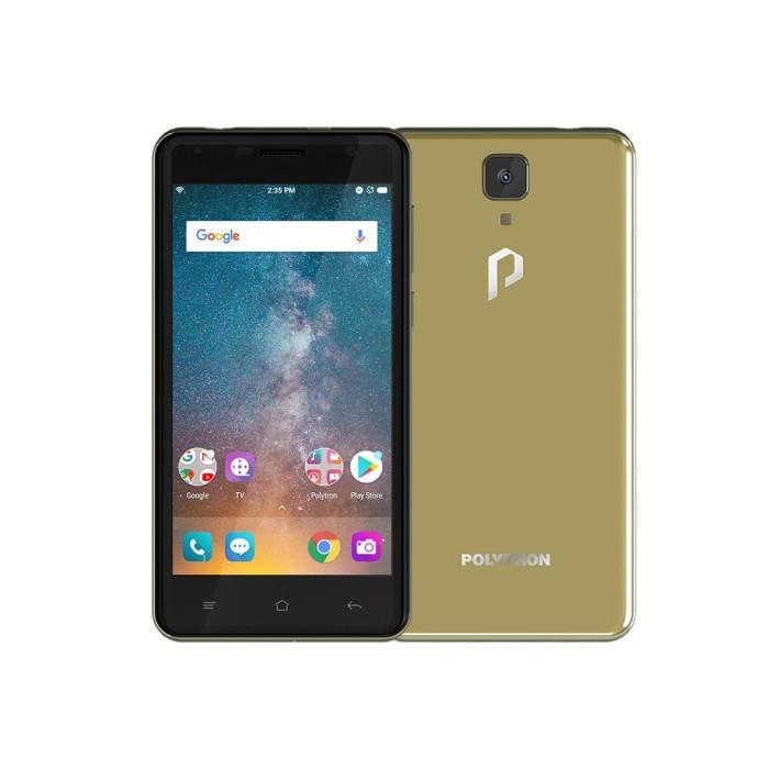 harga Polytron rocket t7 r250a smartphone - gold [16gb/ 2gb] Tokopedia.com