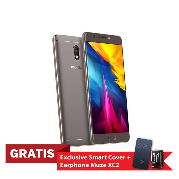 harga Polytron prime 7 pro p552 smartphone - grey [32 gb/ 3 gb] - abu -abu tua Tokopedia.com