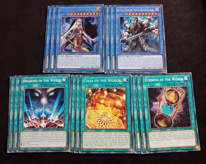 Supreme Demise Deck New Sleeves Mint Yu-Gi-Oh
