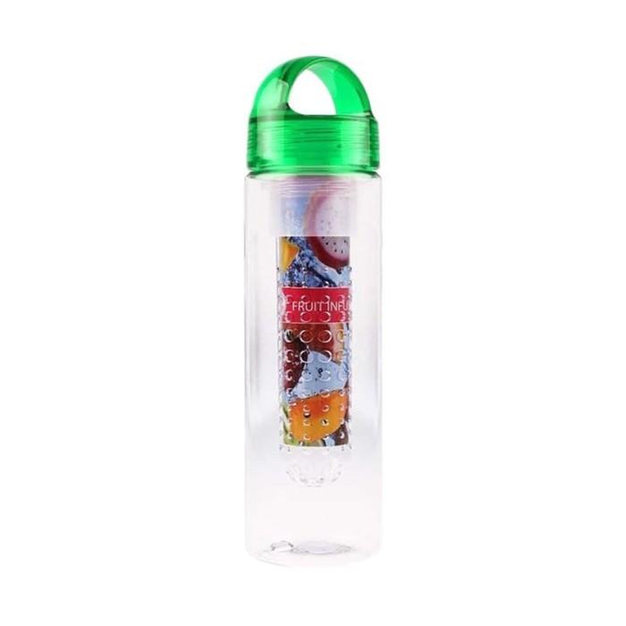 ... 600ml Beli 1 Source · Home Klik Tritan Water Bottle With Fruit Infuser 600 m PROMO