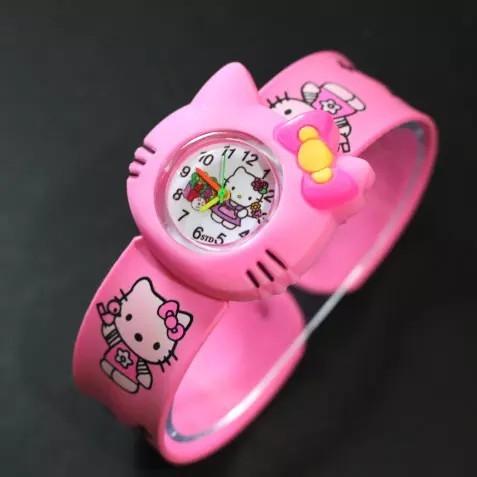 ... Pink - Strap Karet - Hellokitty Cutie Watch. Source · JAM TANGAN ANAK TEPUK KARAKTER HELLO KITTY