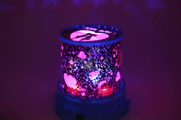 TERBATAS Lampu Tidur Proyektor LED STAR LOVE BISA PUTAR MURAH MERIAH