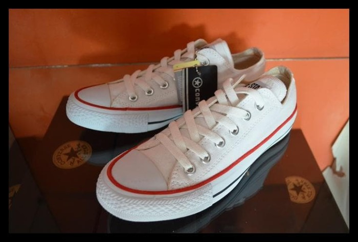 Jual Best Price ! Sepatu Pria Wanita Converse All Star Putih ... 111e96b37e