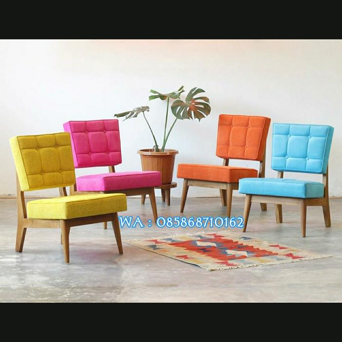 Jual Kursi Cafe Kursi Sofa Retro Minimalis Modern Jati Kab Jepara Rahmat Jaya Furniture Tokopedia