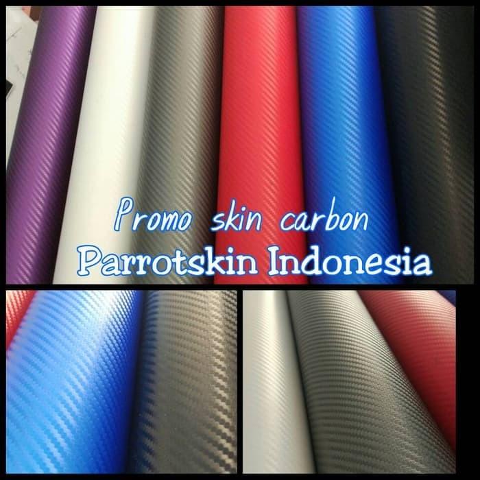PROMO Premium Garskin HP CARBON hitam merah biru putih ungu abu dbrand 1