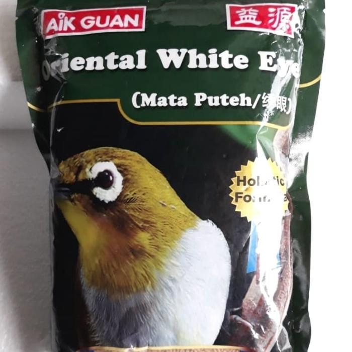 Aik guan pakan burung pleci impor kemasan 500 gram