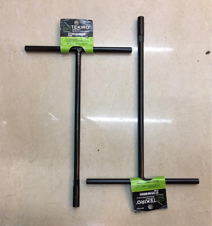 Kunci Sock T Hitam 12 mm TEKIRO / T Type Box Wrench
