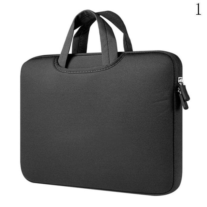 Tas Laptop Softcase Jinjing Imported Foam Neoprene 14 inch - Black
