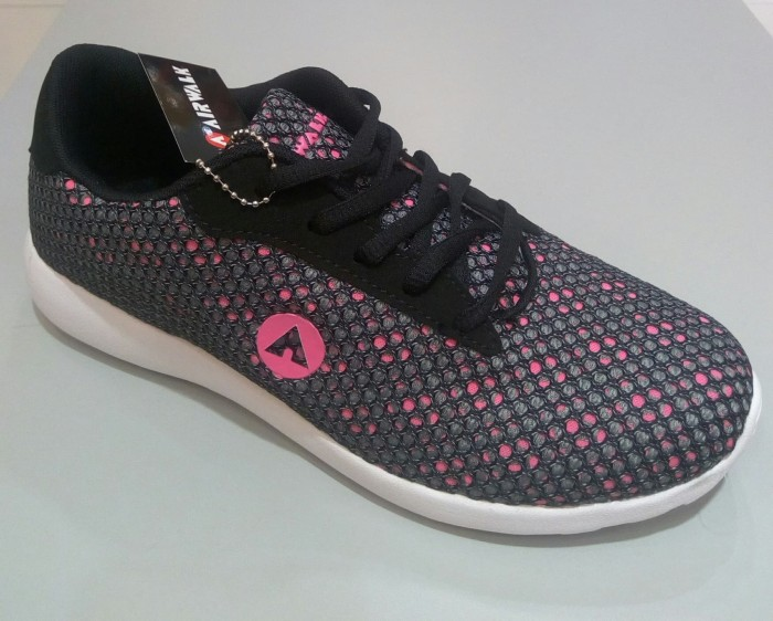 Jual Sepatu Airwalk Original Casual Sneaker Jellen Grey Pink Women ... 368a004bee