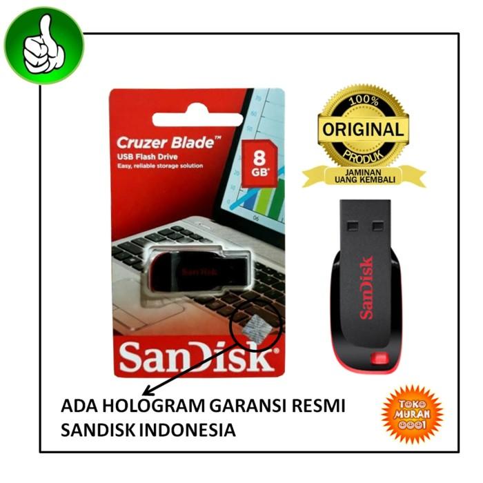 harga Flash disk sandisk cruzer blade 8gb cz50 original / flashdisk ori 8 gb Tokopedia.