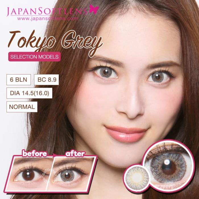 Jual Softlens Ageha Tokyo Grey Kota Semarang Florent Beauty Tokopedia