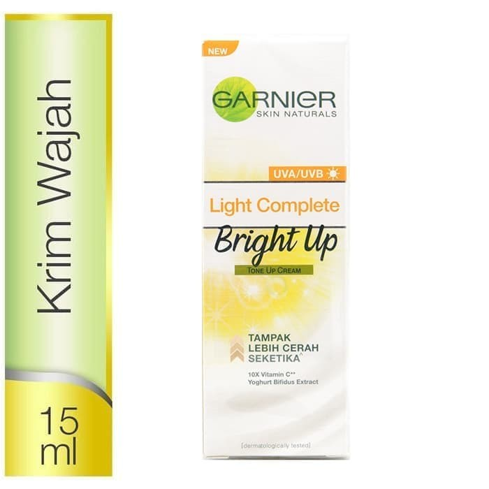 Garnier light complete bright up tone up 15ml