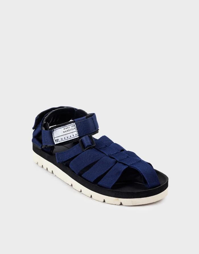 harga Sandal pria casual navara footwear woodley series model suicoke - navy 39 Tokopedia.com