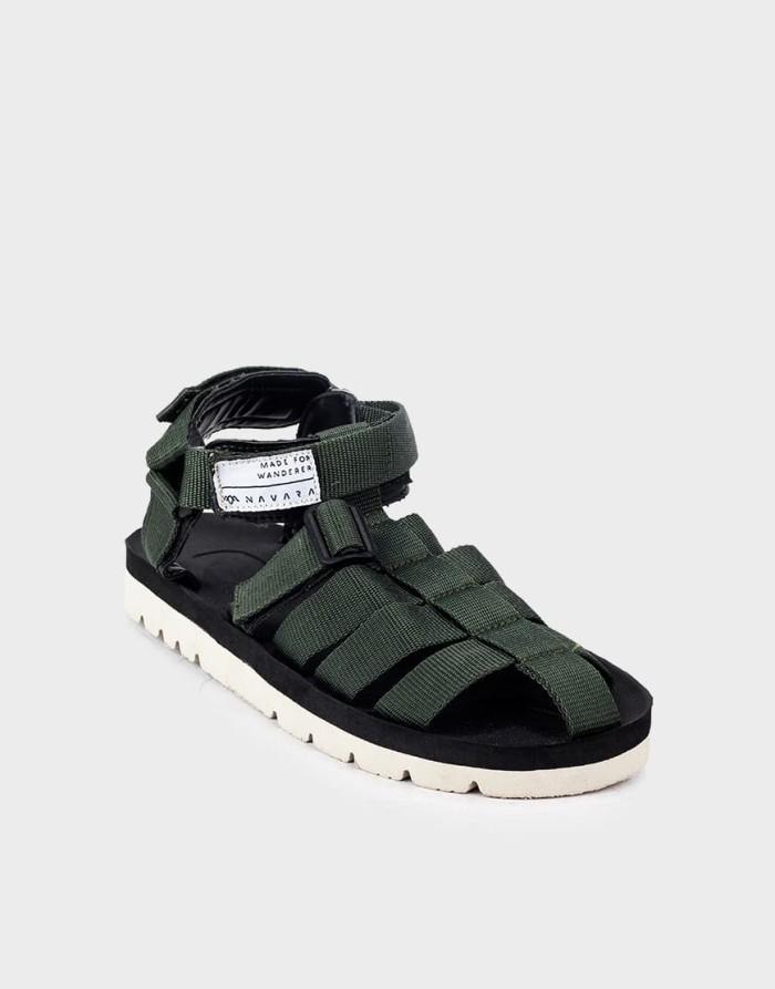 harga Sandal pria casual navara footwear woodley series model suicoke - hijau 40 Tokopedia.com