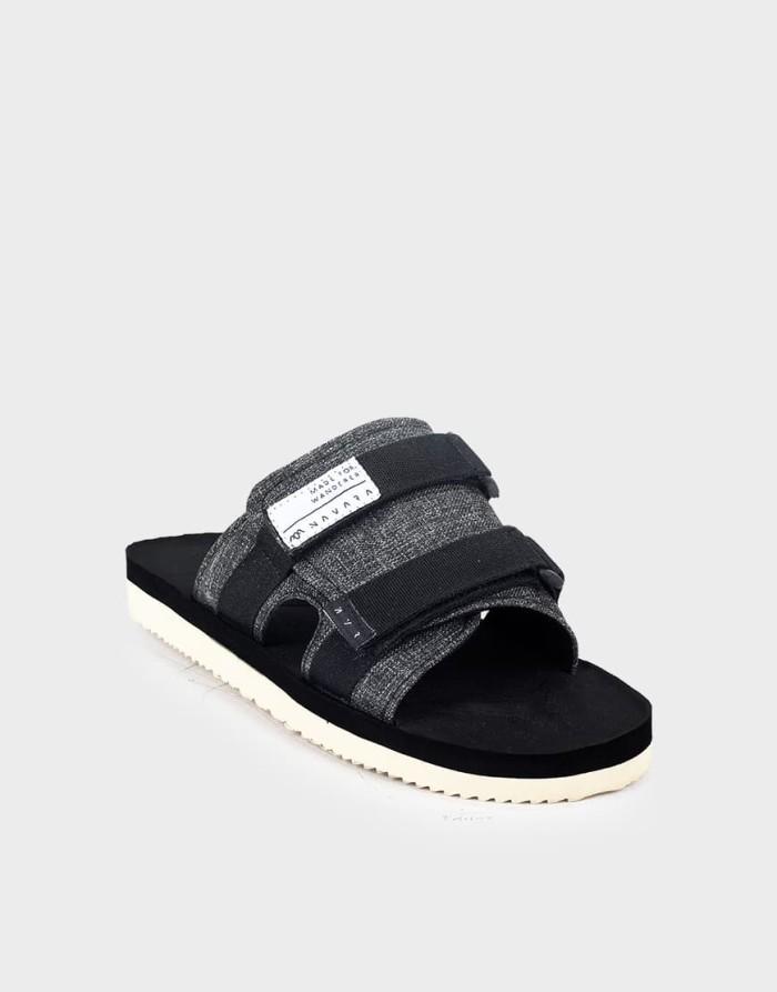 harga Sandal pria casual navara footwear humanist series model suicoke - hitam 44 Tokopedia.com
