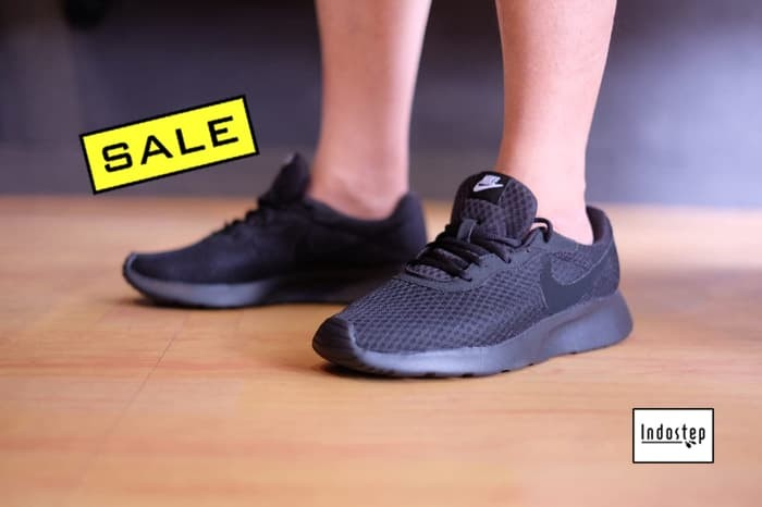 7c593de89 Jual Sepatu Nike ORIGINAL Tanjun Full Black - Hitam