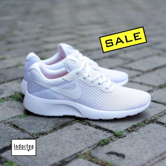 1001f55f2 Jual Sepatu Nike ORIGINAL Tanjun Full White - Putih