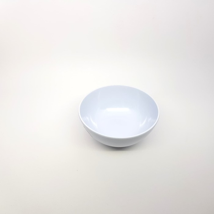 W0705 Mangkok Kaki Melamine 5 inch Putih SNI Golden Dragon