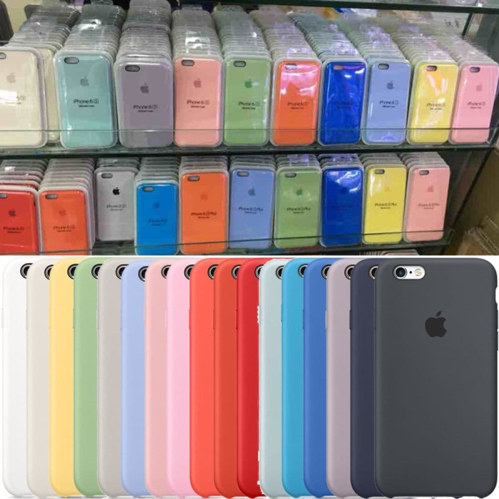 the latest 8e730 6f3bf Jual Apple Silicone Case Iphone 7/8 - Marine Green - DKI Jakarta - Baby  Needs it !   Tokopedia