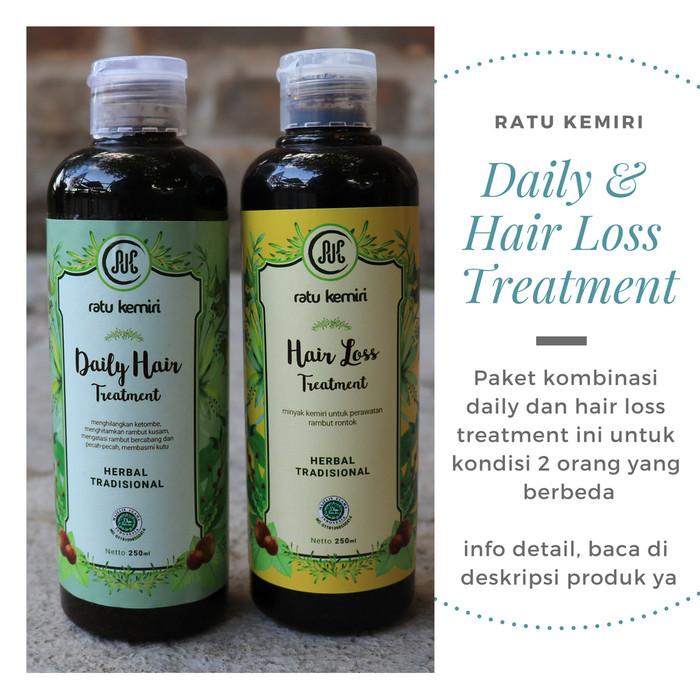 harga Minyak kemiri asli untuk ketombe dan obat rambut rontok ratu kemiri Tokopedia.com