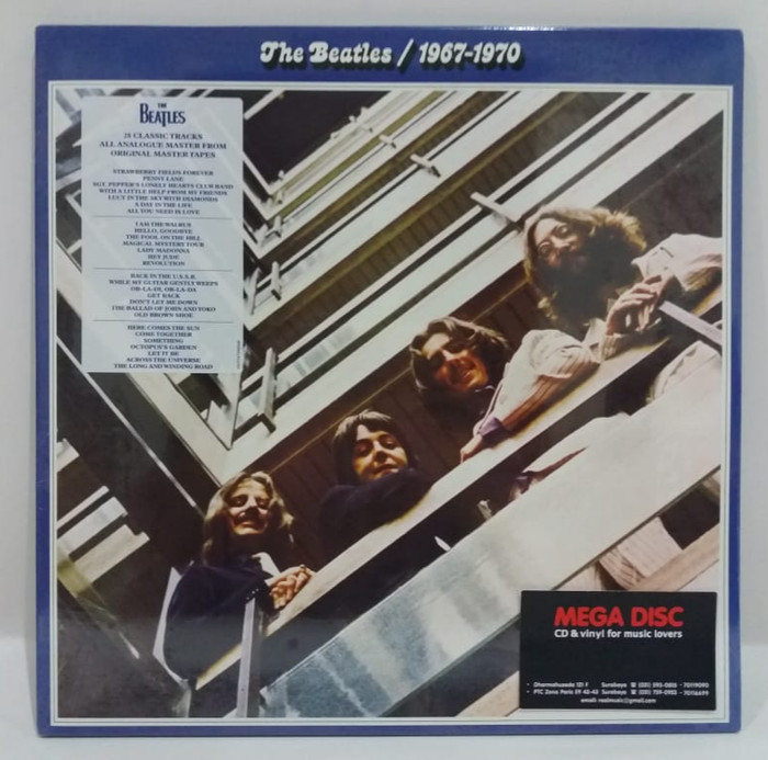 harga Lp beatles - 1967-1970 2lp album vinyl piringan hitam ph Tokopedia.com