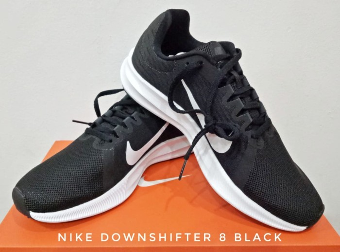 harga Sepatu Lari/running Shoes Wms Nike Downshifter 8 Black (908994 - 001) Original Blanja.com