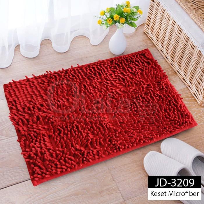 Foto Produk Keset Cendol Microfibre Dof Size 40x60cm MJ-3209 dari olala_jakarta