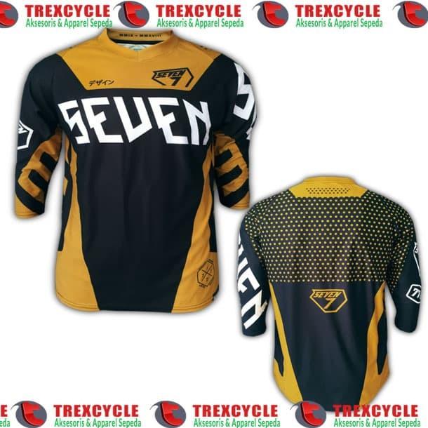 Jual Jersey Sepeda MTB SevenSeven 77 Seven7 Nomad Gold - Gold 6a0341bd5