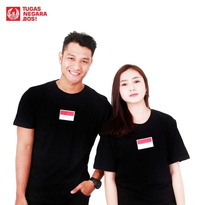 harga T-shirt kolaborasi - nevertoolavish x tugas negara bos : indonesia one - hitam xxl Tokopedia.com