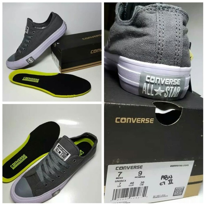 38a56f4d0e24 Jual Sepatu Converse All Star CT II Premium Abu-abu - Rumahan Shop ...