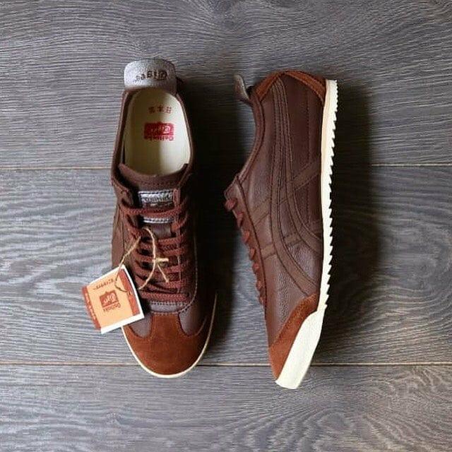 newest a9827 9d189 Jual Sepatu Onitsuka Tiger Mexico 66 Leather Deluxe Dark Brown Original -  Jakarta Selatan - blaulionstore | Tokopedia
