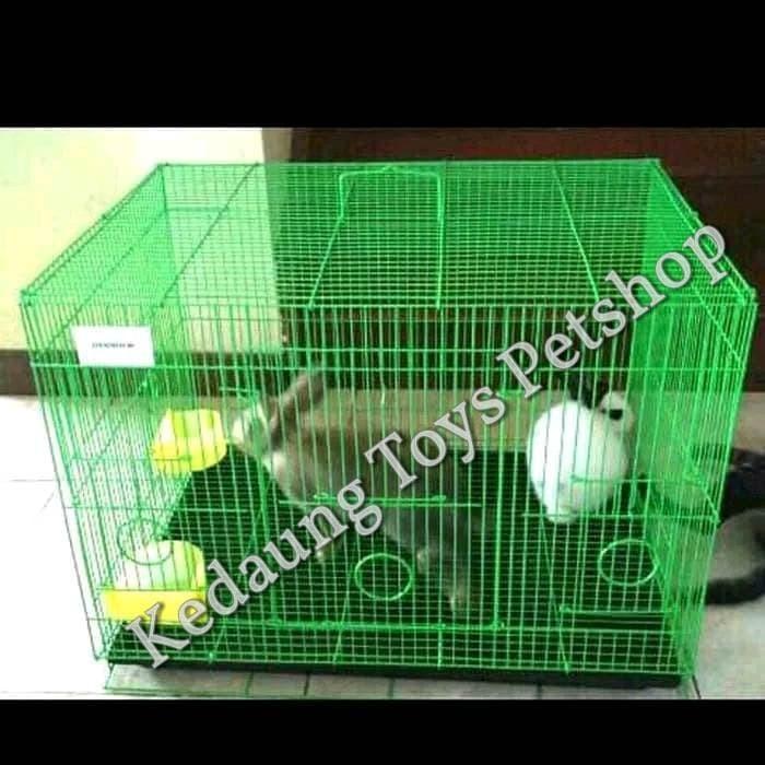 harga 60x43x40 kandang lipat kucing anjing kelinci marmut kadal Tokopedia.com